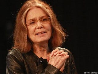 Illustration for article titled Gloria Steinem is Relevant to GT's Interests