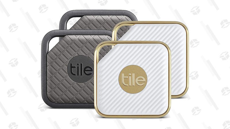 Tile Pro Series Item Trackers 4-Pack | $50 | QVC
