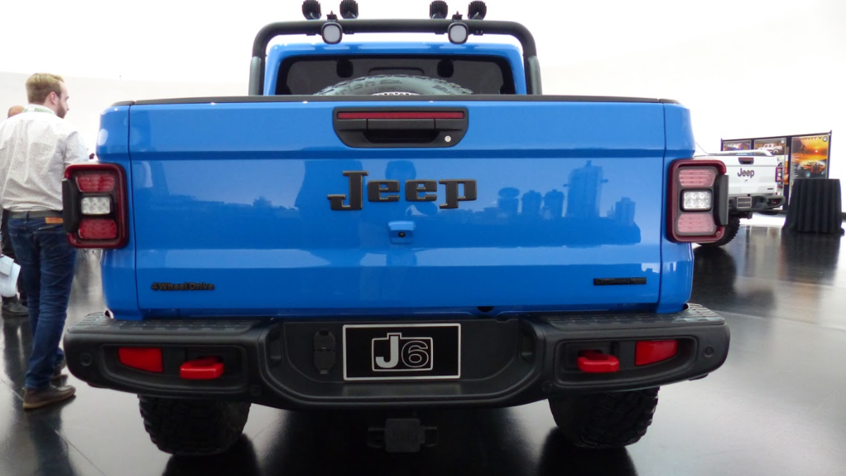 The Jeep J6 Concept Is the Regular Cab Long-Bed Jeep Pickup