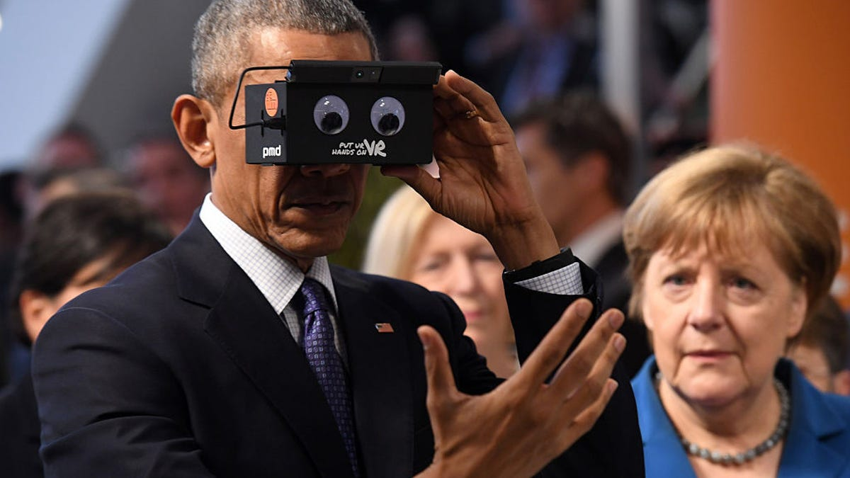 6f82cc16209c Barack Obama Just Tested a VR Headset and Loved It