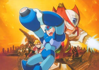 Illustration for article titled Capcom to release Mega Man X4 and X5 on PSN in September.