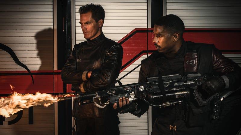 Michael Shannon and Michael B. Jordan star in Fahrenheit 451