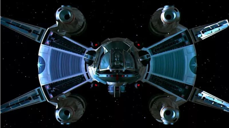 This image from The Last Starfighter is one of the first things I remember.