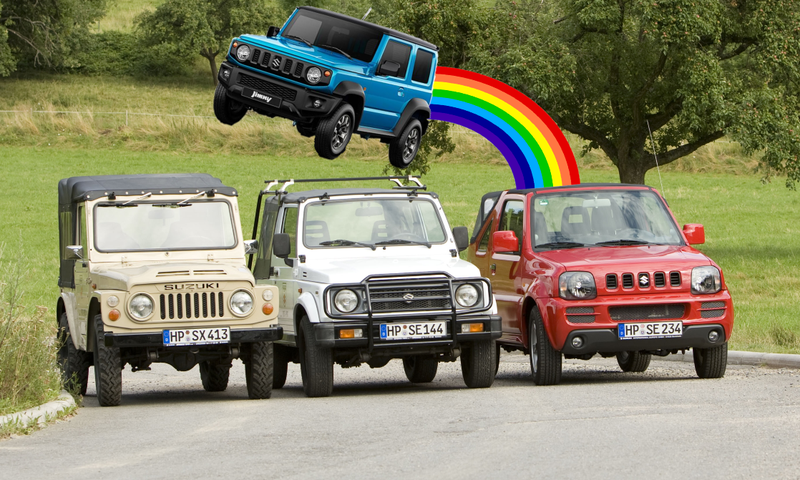 Illustration for article titled Endangered Species: A list of the remaining 2 & 3 Door SUVs on sale new around the world