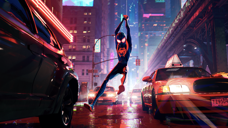 Illustration for article titled The Into The Spider-Verse script is now online, so you can enjoy it without all of that animation