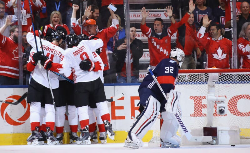 Toews has 2 goals and an assist, Canada beat Europe 4-1