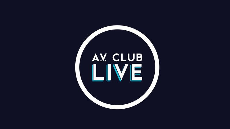 Illustration for article titled Introducing A.V. Club Live, our daily Facebook Live chat show