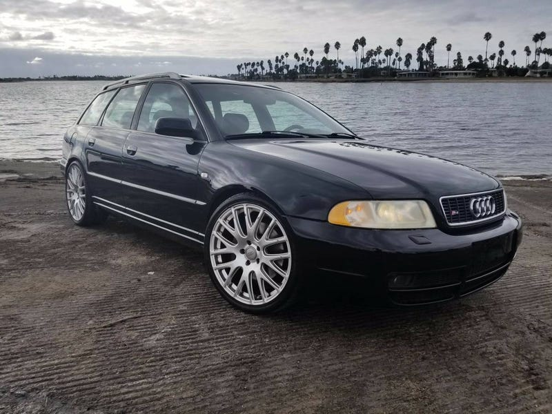 For Might This Audi S Have You Circling Your Wagons - Audi s4