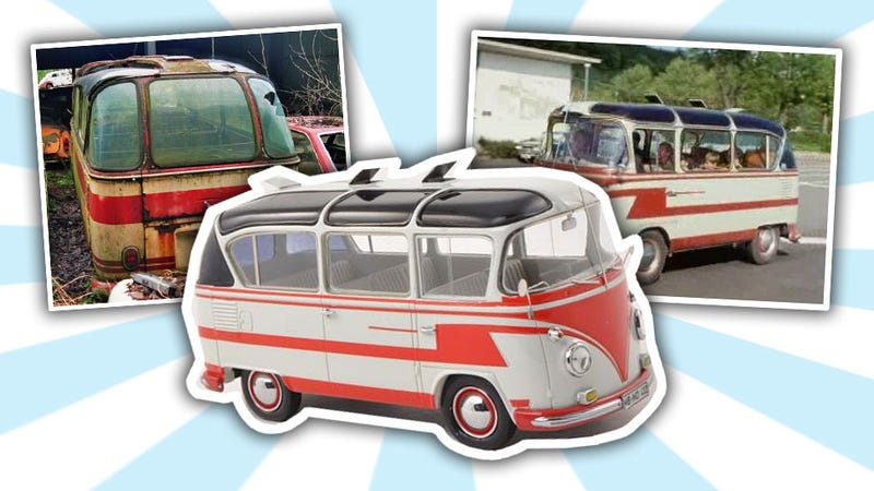 Illustration for article titled This Is The Holy Grail Of Old Volkswagen Buses