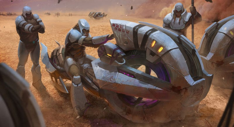 Illustration for article titled Ensemble Says Goodbye With Halo Wars Concept Art