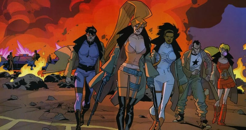 Illustration for article titled Hypothetical Studios: Marvel'sNextwave, Agents of H.A.T.E.