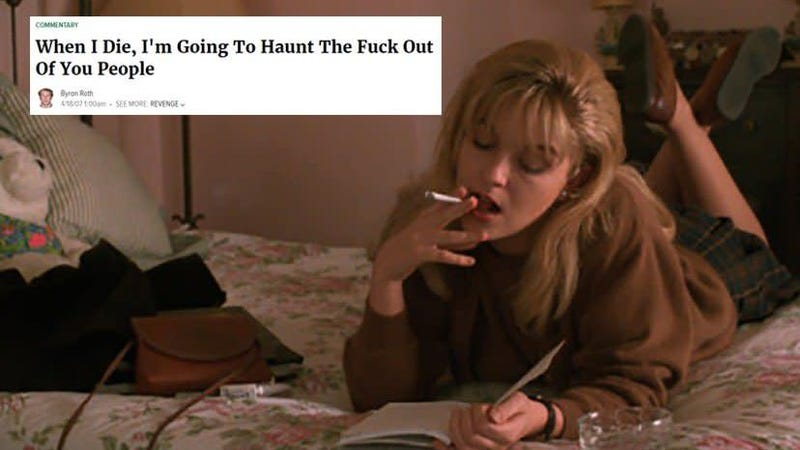 Illustration for article titled Give yourself the present of Twin Peaks as Onion headlines