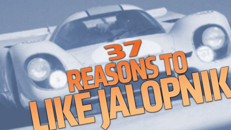Illustration for article titled 37 Reasons To Follow Jalopnik