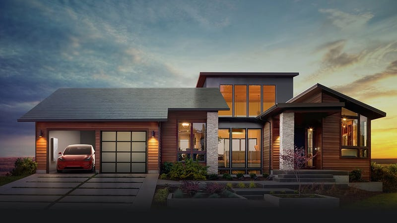 Tesla's Electric Domination Moves Forward With Debut of Beautiful Solar Shingles