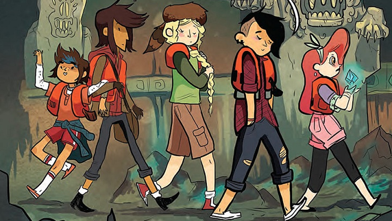 Illustration for article titled Lumberjanes Is Being Turned Into a Children's Novel Series