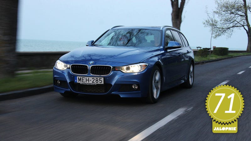 Illustration for article titled BMW 320d M Sport Touring: The Jalopnik European Review