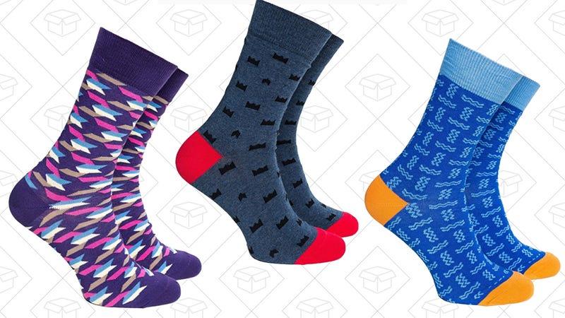Barons Sock Club Dress Socks, $10 with code BARONS20