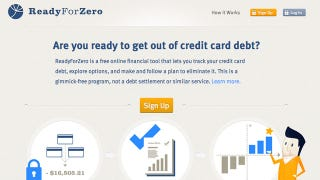 Illustration for article titled ReadyForZero Is a Simple Webapp That'll Help Get You Out of Debt
