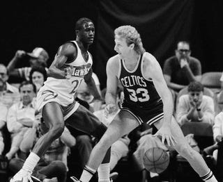 It s not news that Larry Bird was an arrogant jerk in his NBA days. He got  away with most of his shit-talk because when he said he was about to shoot a  ... b0eb897cd