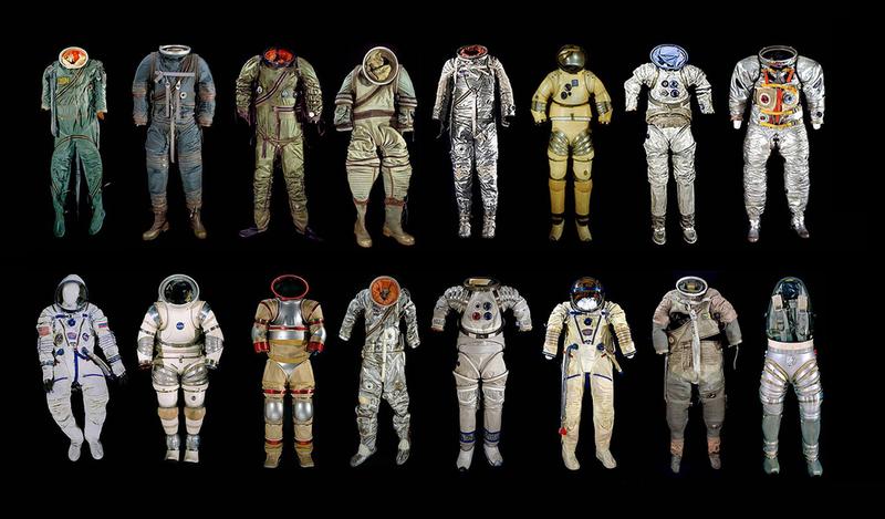 Illustration for article titled Los trajes espaciales más emblemáticos de la historia, en una imagen