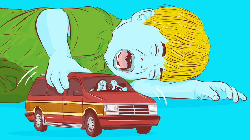 Illustration for article titled How To Survive A Long Car Trip With Your Kids