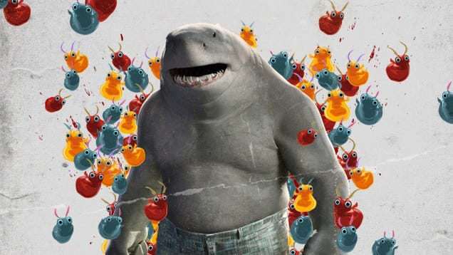 Suicide Squad s King Shark Was a Pain in the Ass for James Gunn