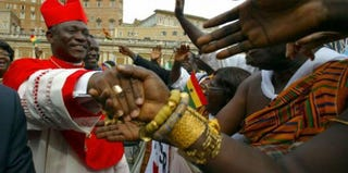 Not the pope: Cardinal Peter Turkson of Ghana (Getty Images)