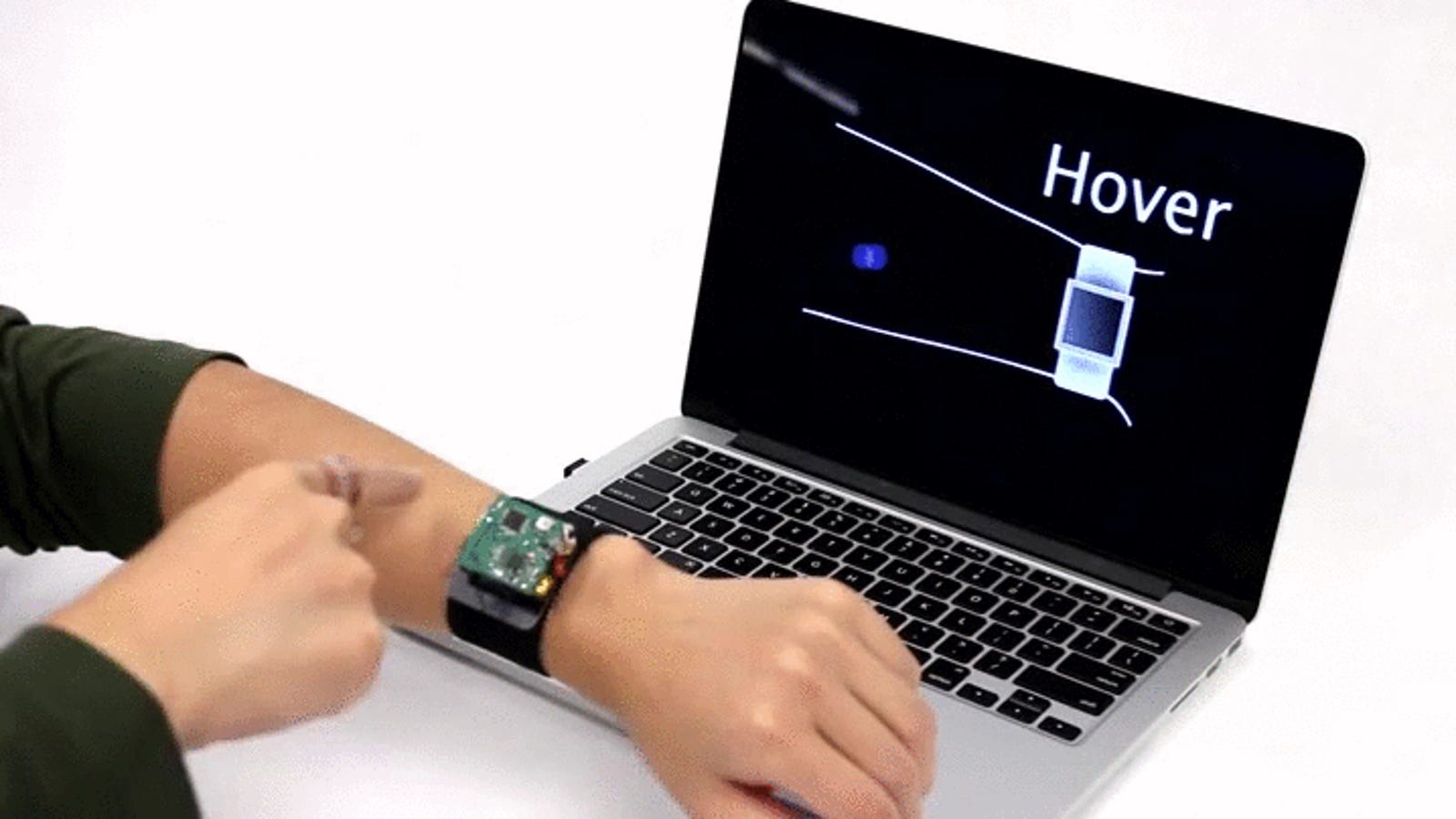 This New 'Skinterface' Could Make Smartwatches Suck Less
