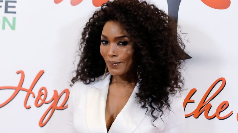 Angela Bassett attends The Hearts For Hope Gala Benefiting Union Rescue Mission on February 16, 2019 in Beverly Hills, California.