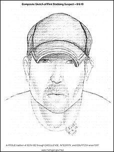 Composite Sketch of Suspected Serial Killer