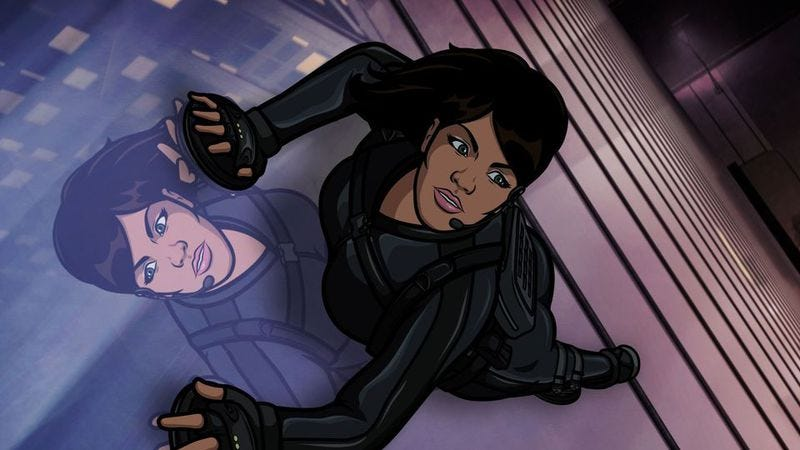 Illustration for article titled Aisha Tyler will sing her own torch songs on Archer: Dreamland