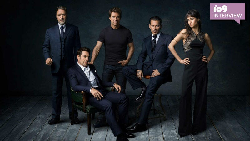 This photo of the would-be stars of the Dark Universe will never not be awesome.