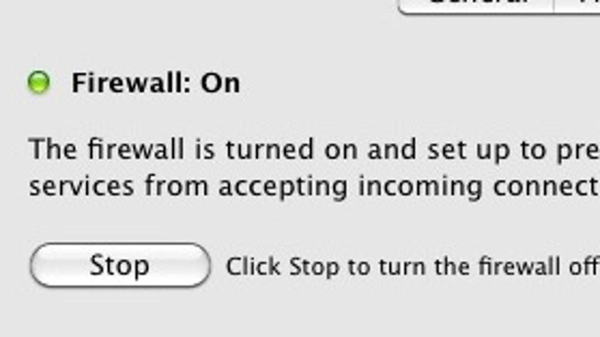 firewall turns off by itself