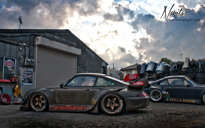 Illustration for article titled RWB might as well stand for Raw, Wide, and Beautiful
