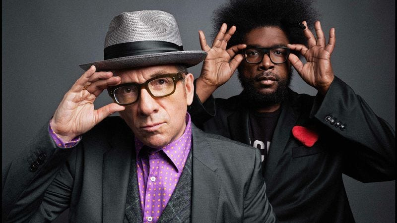 Illustration for article titled Elvis Costello And The Roots: Wise Up Ghost