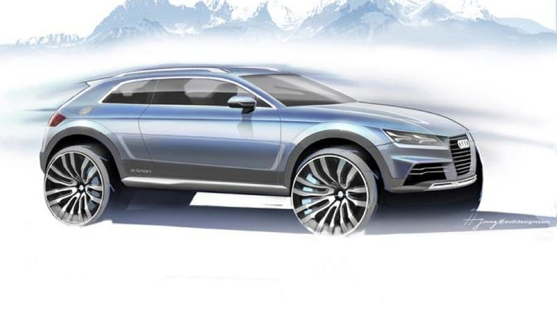 Illustration for article titled Why This Crossover Might Actually Be The 2015 Audi TT In Disguise