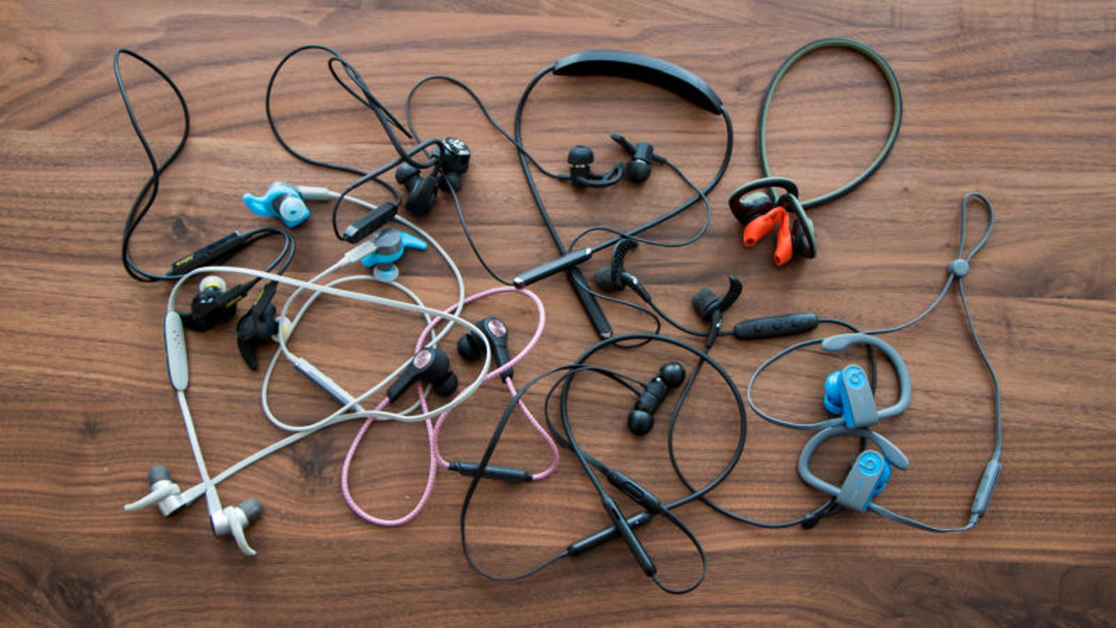 sure headphones in ear