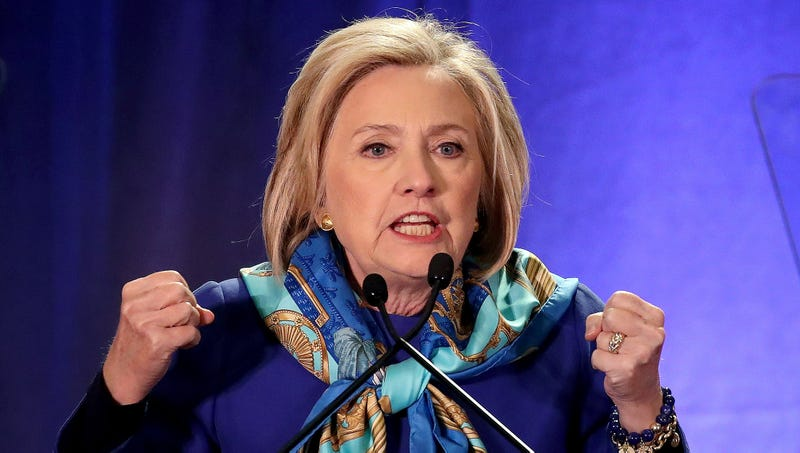 Hillary Launches Campaign To Raise 100 Million Or Else Shell Run