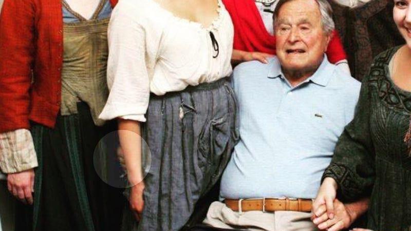 George Hw Bush Sexual