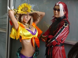 Illustration for article titled The Cosplay of TGS