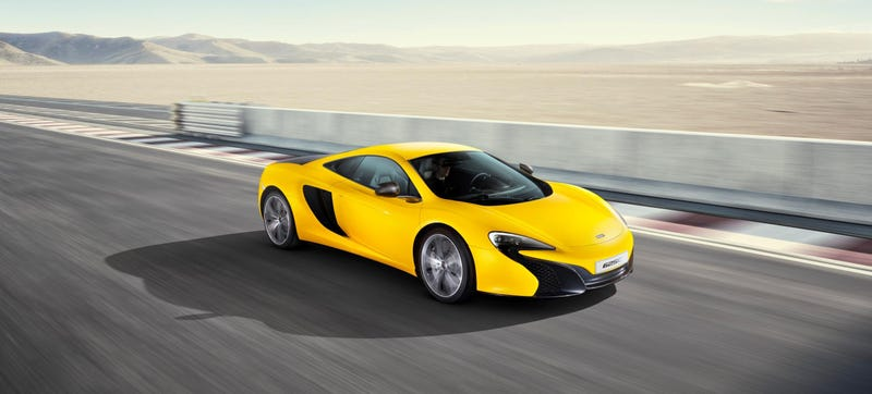 Illustration for article titled The New McLaren 625C Is A Slower And Softer 650S For Asia