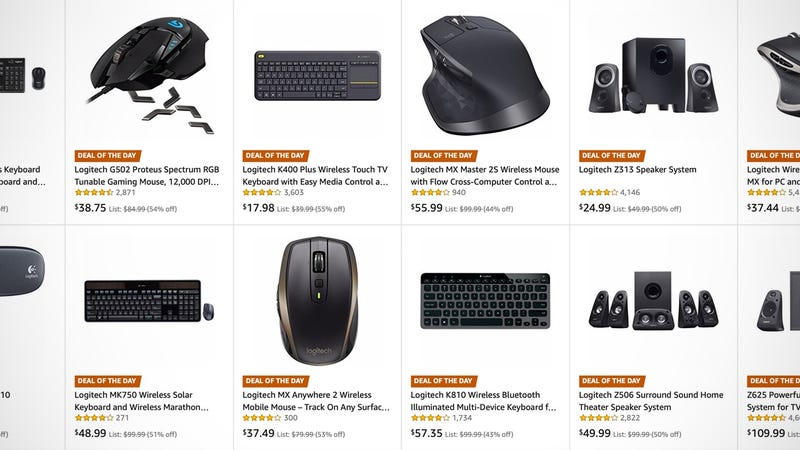 A Bunch of Your Favorite Logitech Accessories Are On Sale