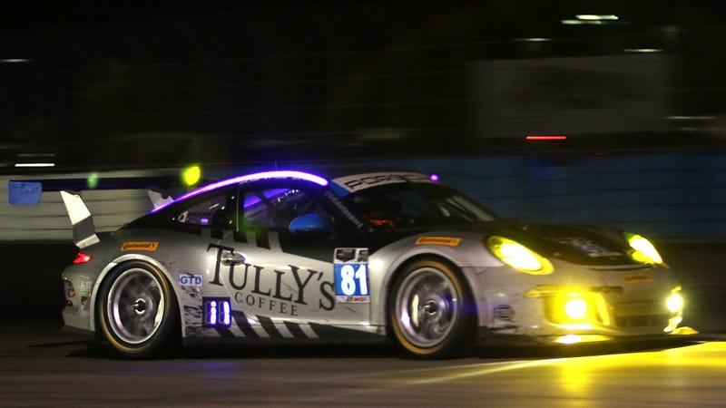 The Porsche Avenatti co-drove at 12 Hours of Sebring in 2014.