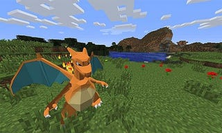 Illustration for article titled You Can Play Pokemon Inside Minecraft