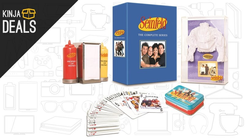 Illustration for article titled Today's Best Media Deals: Seinfeld Gift Set, Neil Gaiman, and More