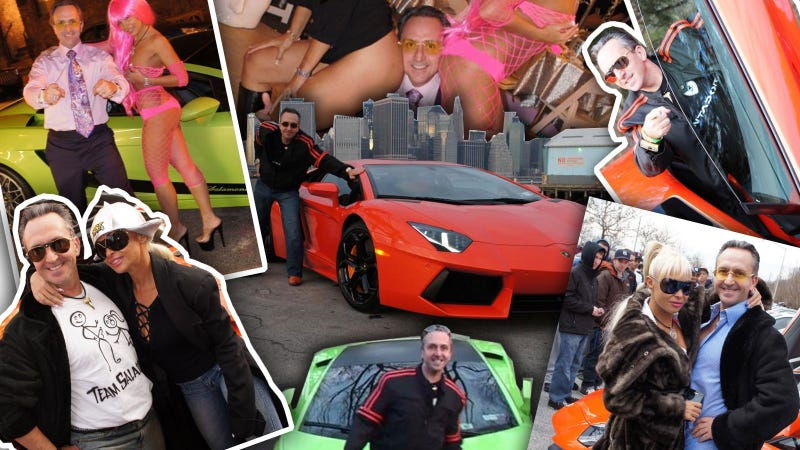 Illustration for article titled Meet The Most Stereotypical Lamborghini Owner In The World