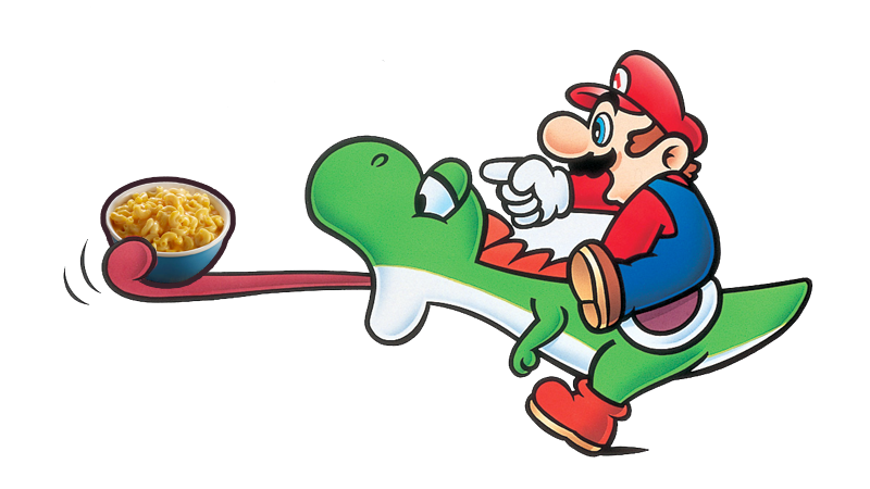 Illustration for article titled The Magic Behind 1994's Super Mario Mac & Cheese Commercial