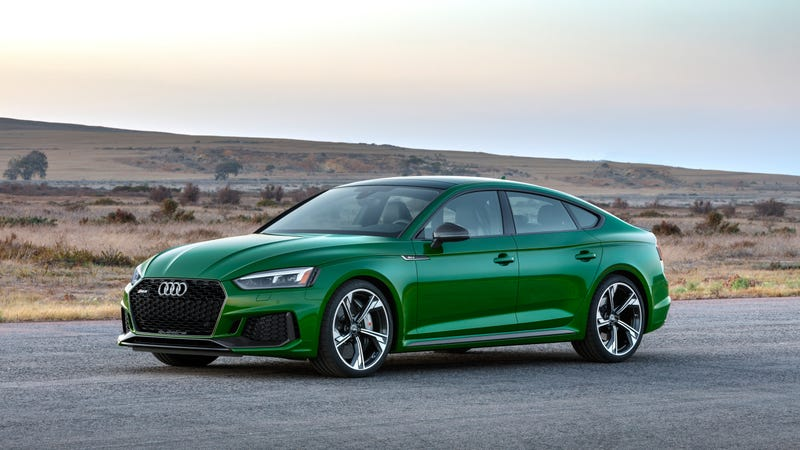 The 2019 Audi RS 5 Sportback Can Hit 0-60 In Just 4 Seconds