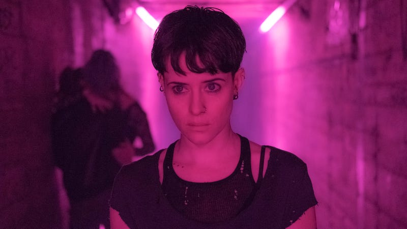 Claire Foy as Lisbeth Salander in The Girl In The Spider's Web