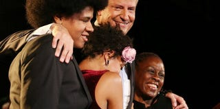Bill de Blasio and his family (Mario Tama/Getty Images)